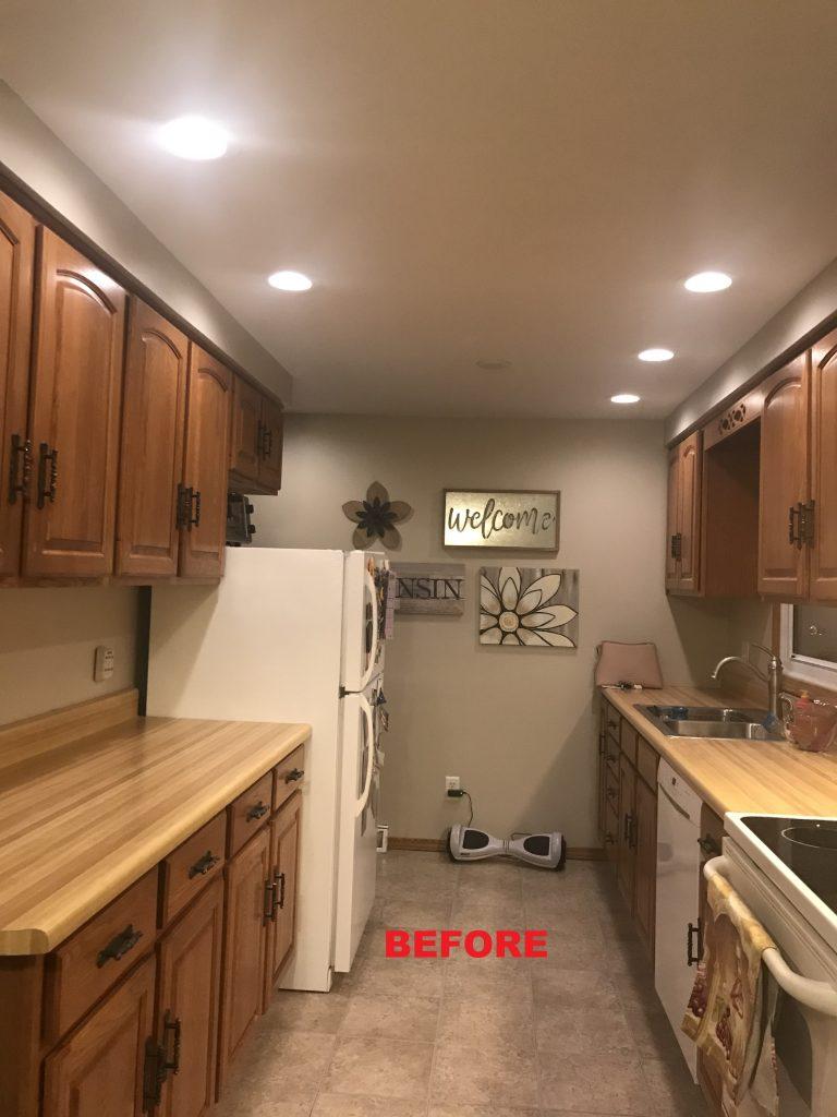 brown wood kitchen 2